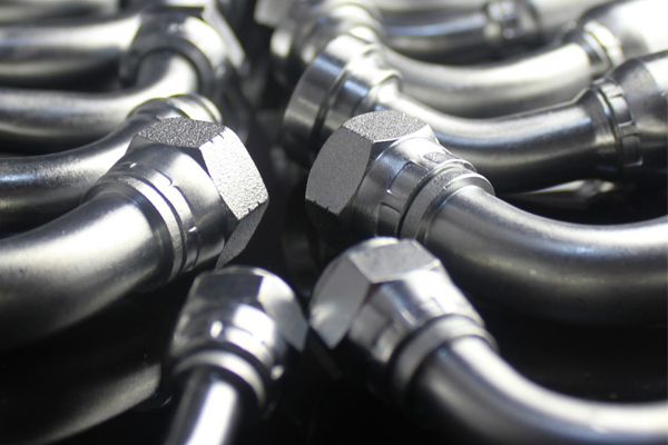 التجهيزات الهيدروليكية والمحولات 45 GB متري أنثى 74 مخروط مقعد خرطوم تركيبات Hydaulic أجزاء 20791